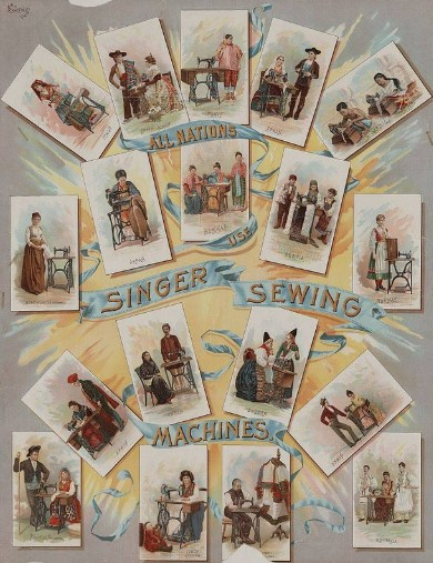 sas-fabric-store-all-nations-use-singer-sewing-machines-1892 photo