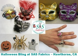 sas-fabric-store-halloween-bling-earrings-rings photo