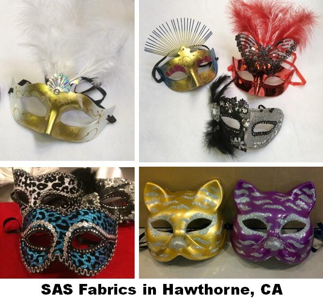 sas fabric store mask masquerade halloween photo